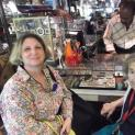 Mitzi Mogul and Mom at Grand Opening Julius Antiques