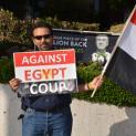 Mohamed Morsi Coup Protest 2014