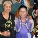 D.V. Lawrence, Grandmaster Moon, Theresa Green at Moorimgoong Kung Fu Graduation