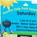 Summer 2016 Country Club Park Summer BBQ