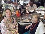 Mitzi Mogul and Mom at Grand Opening Julius Antiques